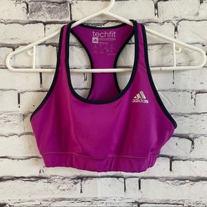 Adidas Climacool Techfit Compression Sports Bra